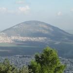 הר תבור מהר הקפיצה דר אבישי טייכר. מתוך אתר פיקיוויקי
